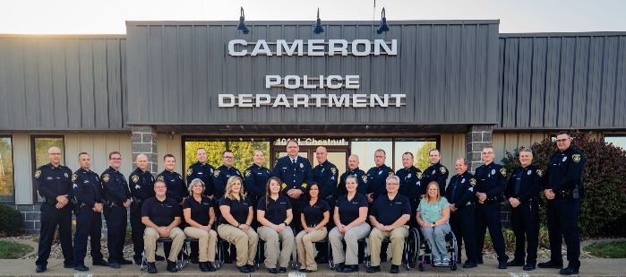 Cameron Police Department 2020